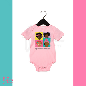 4 Brown Girls Baby Grow