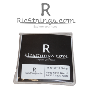 RicStrings.com Custom Flatwound 12 string set .010-.042 for Rickenbacker