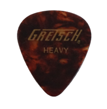 Load image into Gallery viewer, Gretsch Tortoise Shell Celluloid Picks 351 shape Heavy/Medium/Thin $3.29 per dozen