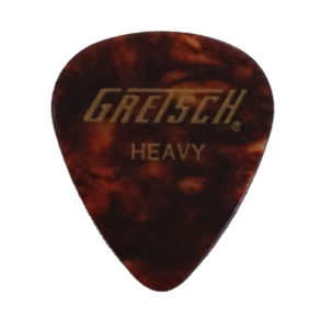 Gretsch Tortoise Shell Celluloid Picks 351 shape Heavy/Medium/Thin $3.29 per dozen