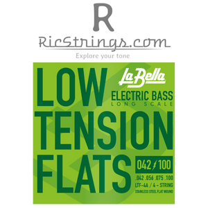 LaBella Low Tension Flats for Bass Long Scale .042-.100