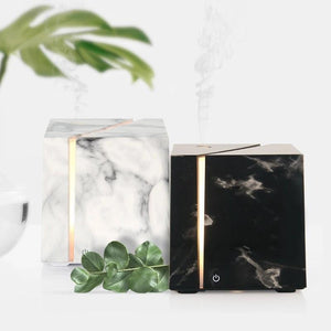 Black and white marble grain Ki Ultrasonic essential oil diffuser