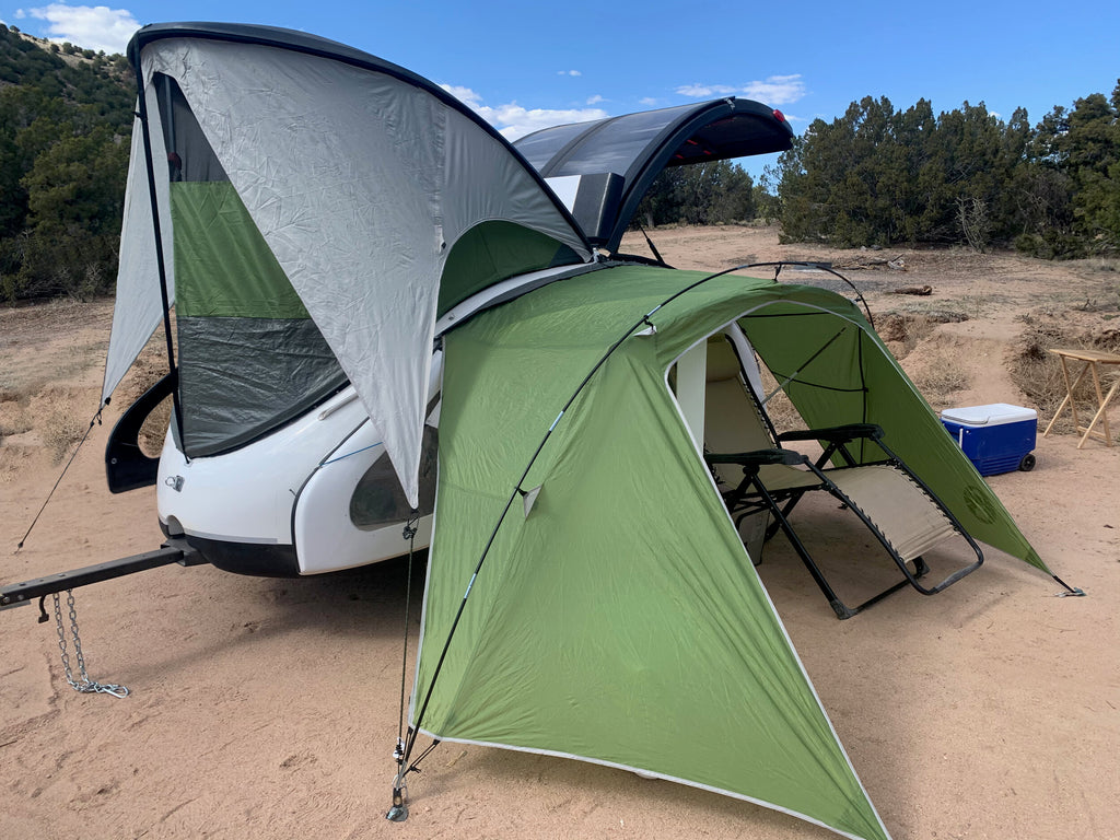 The Ultralight of Ultralight Camping Trailers