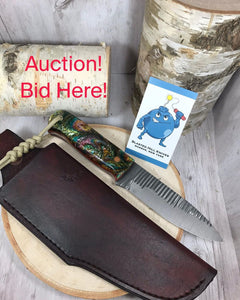 Blasted Hill Knives Auction Item