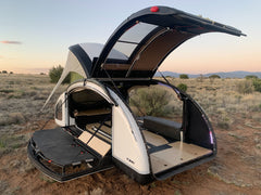 Lightweight Travel Trailer by Earth Traveler Teardrop Trailers