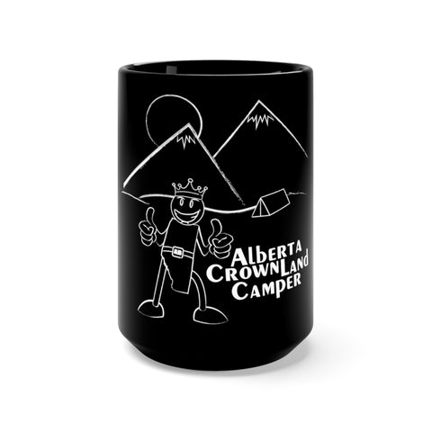 15oz AB Crown Land Camper Black Mug