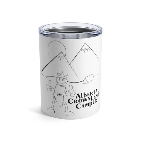 10oz AB Crown Land Camper Tumbler