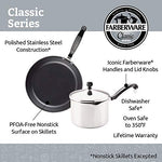 Farberware 50049 Classic Stainless Steel Cookware Pots and Pans Set, 15-Piece