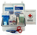 First Aid Only 10 Person First Aid Kit, Weatherproof Plastic Case
