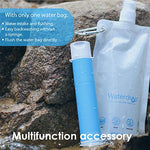 Waterdrop Water Filter Straw, Portable Camping Filtration System, Drinking Water Purifier for Emergency Hiking Travel Backpacking