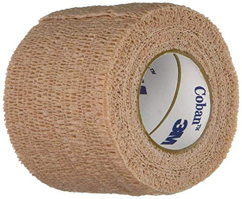 "Coban - 27099 Self-Adherent Wrap, Each, 2"" x 5 yds, Tan"
