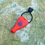UST JetScream Floating Whistle, 122dB, Orange