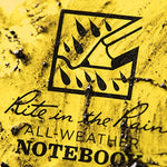 Rite In The Rain Weatherproof Side Spiral Notebook, Yellow Cover, Universal Page Pattern (No. 373-MX), 11 x 8.75 x 0.5