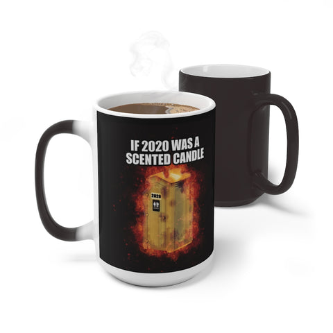 2020 Scented Candle Reveal Mug