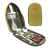 Camping kitchenware set