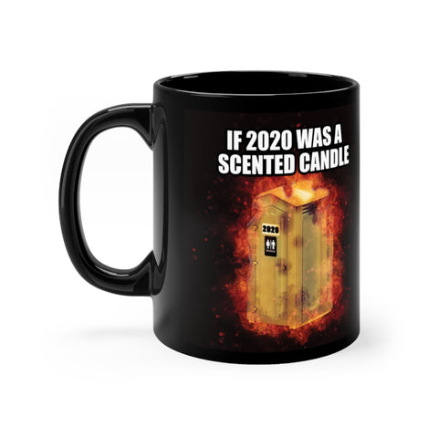 11oz 2020 Scented Candle Mug