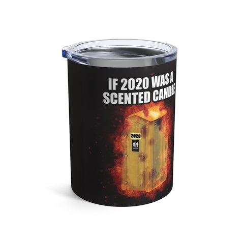 10oz 2020 Scented Candle Tumbler