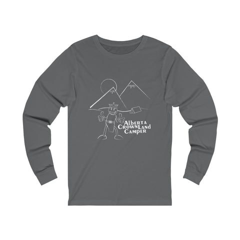 AB Crown Land Camper Long Sleeve Jersey Tee