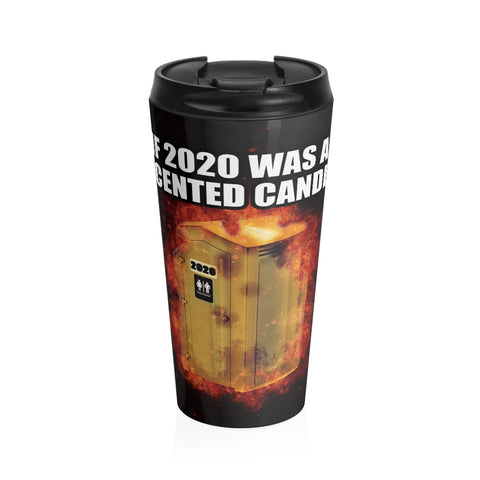 2020 Scented Candle Steel Travel Mug