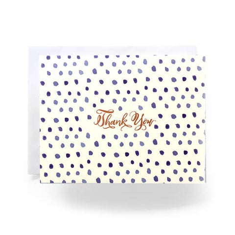 Box Dot Thank You Card Boxed Set