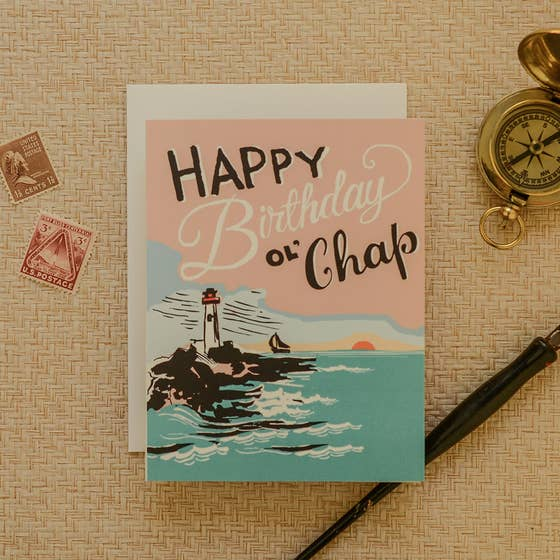Ol' Chap Birthday Card