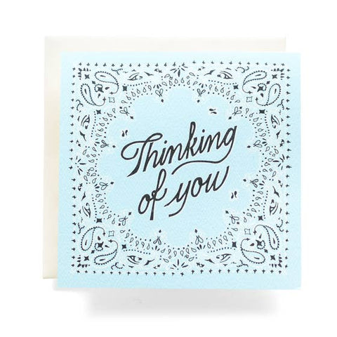 Bandana Thinking of You Card