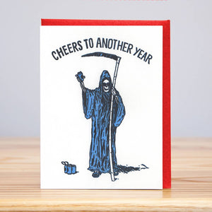 Cheers to Another Year Card
