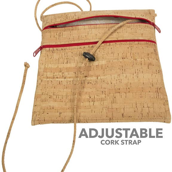 Bark Cork Mini Cross Body Bag
