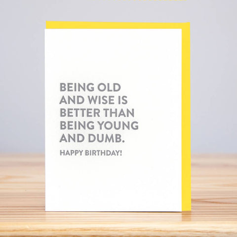 Old & Wise BD Card