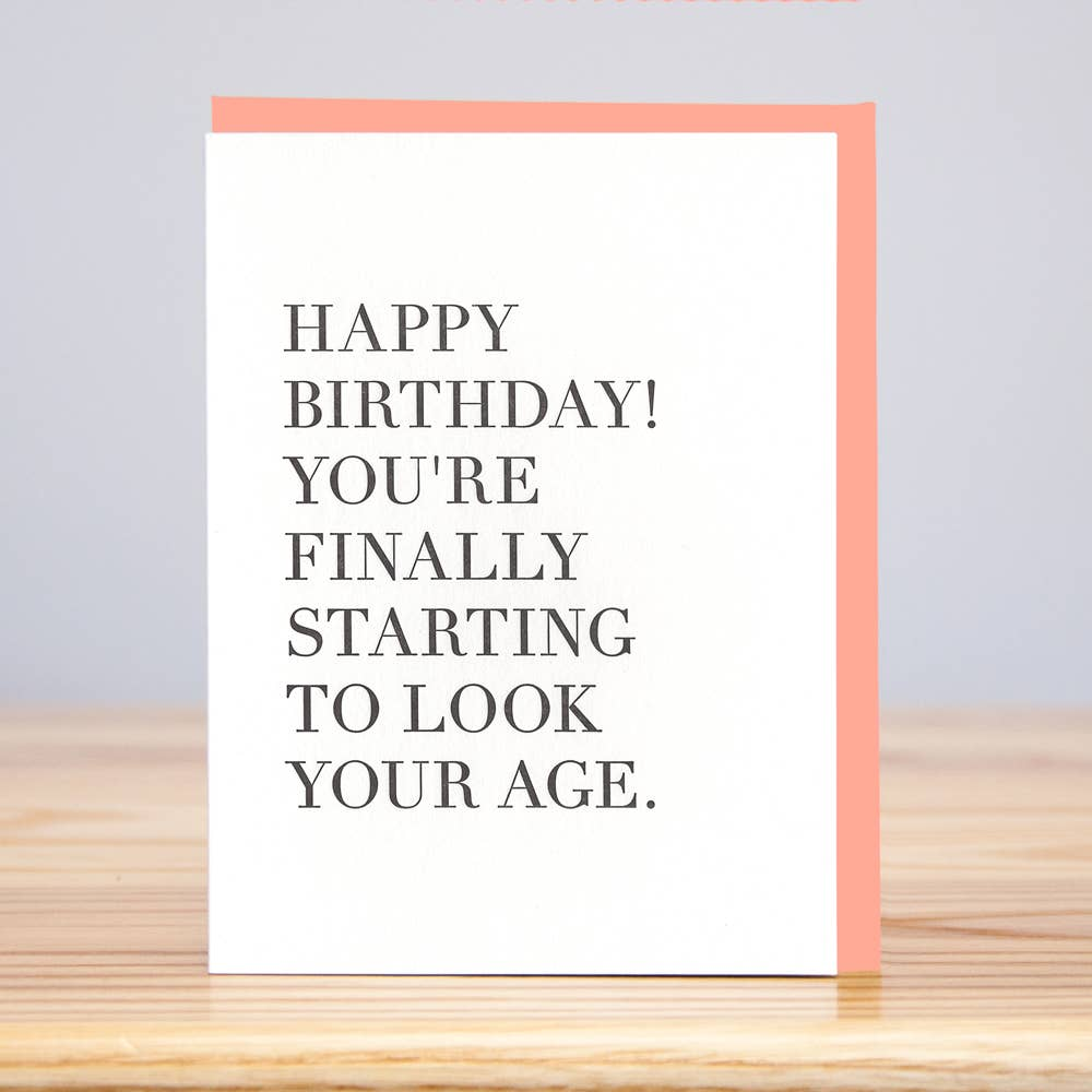 Look Your Age BD Card