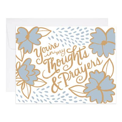 Thoughts & Prayers Card