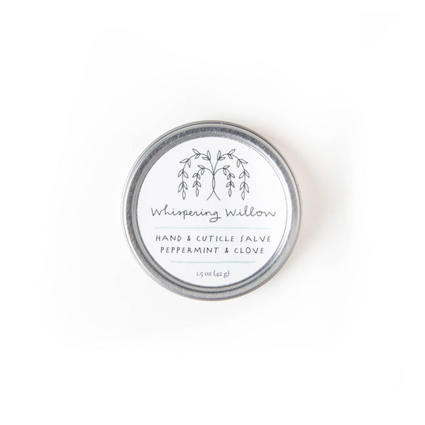Peppermint & Clove Hand & Cuticle Salve