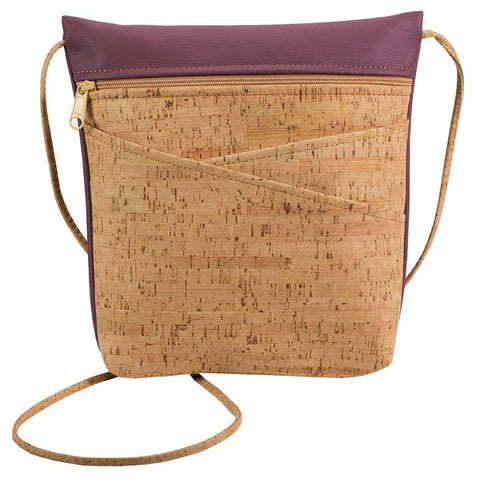 Wine Criss-Cross Body Bag