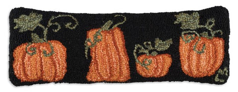 Pumpkin Patch Pillow 8x24""