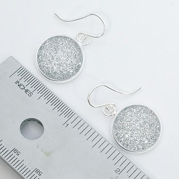 Shimmer Champagne Drop Earrings