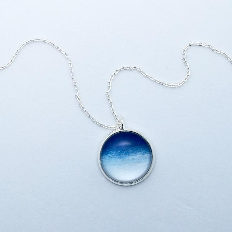 Hokusai Sky Necklace