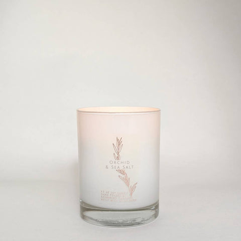 Orchid & Sea Salt 9.5 Candle
