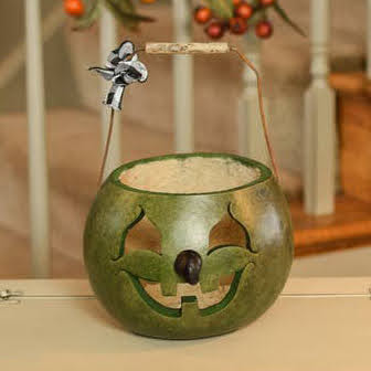 Witch Candy Dish Gourd