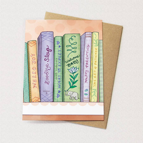 Baby Books Card