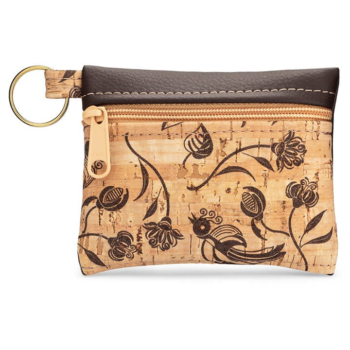 Brown Whistle Key Chain Pouch