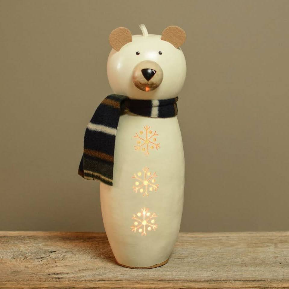 Dakota Bear Gourd Luminary
