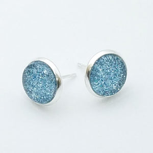 Shimmer Sky Stud Earrings