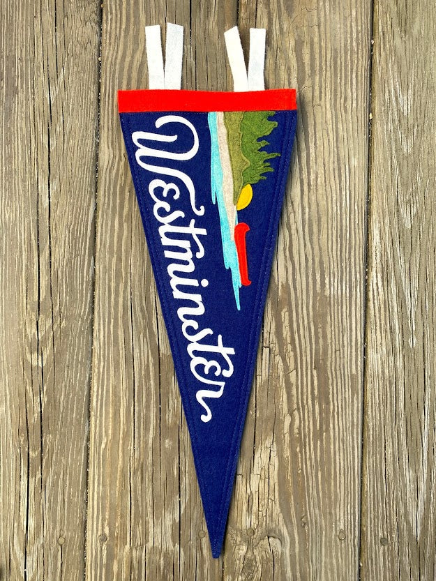 Navy Westminster Lake Pennant