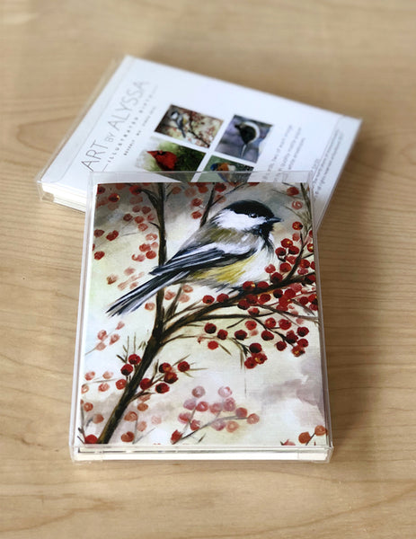 Winter Birds Boxed Cards