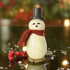 Lil Easton Snowman Gourd Ornament