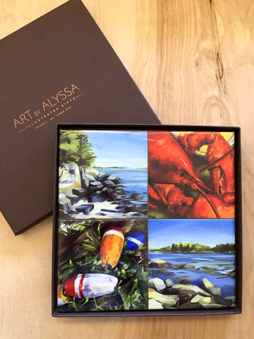 Maine Coaster Set