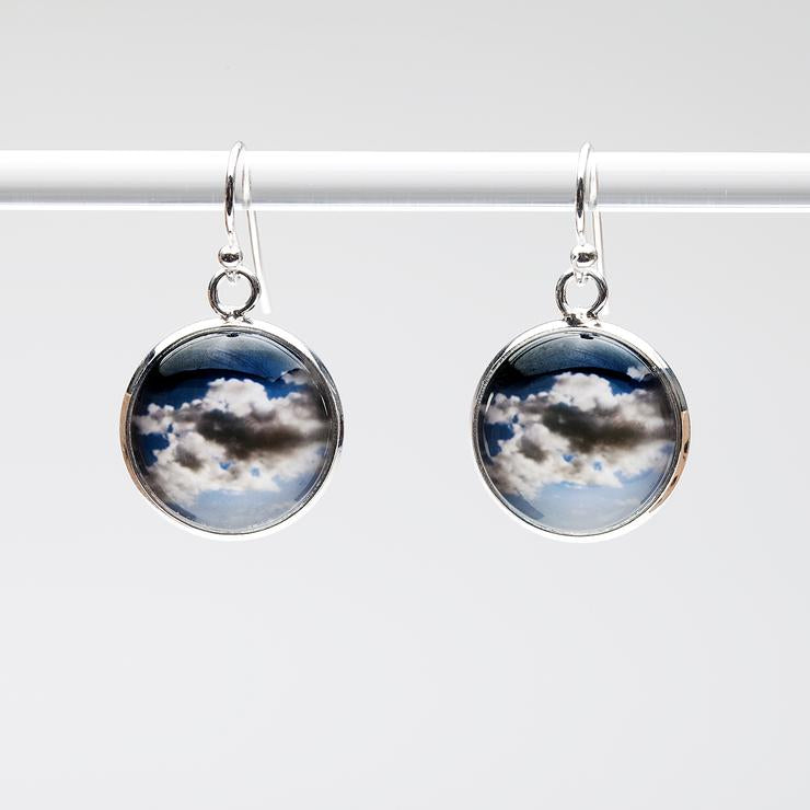 Clouds Drop Earrings