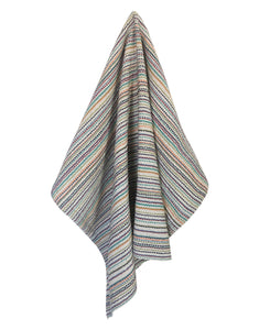 Color Splash Tea Towel - Natural