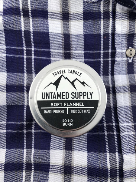 Soft Flannel Candle