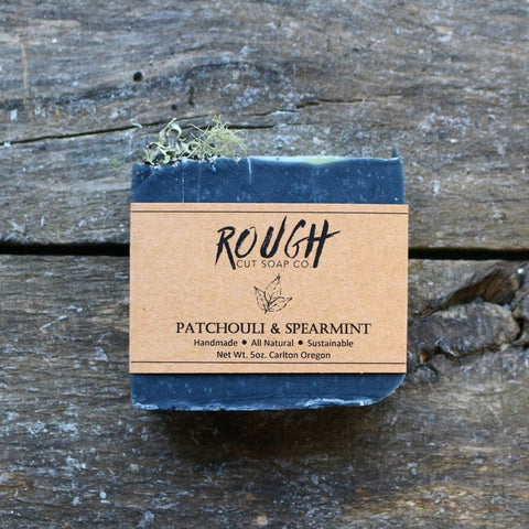 Patchouli and Spearmint Bar Soap